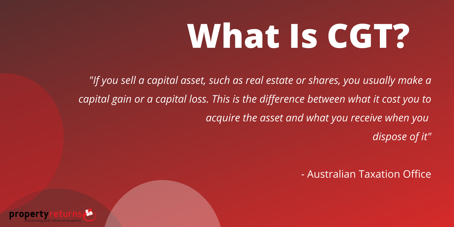 what is capital gains tax infographic